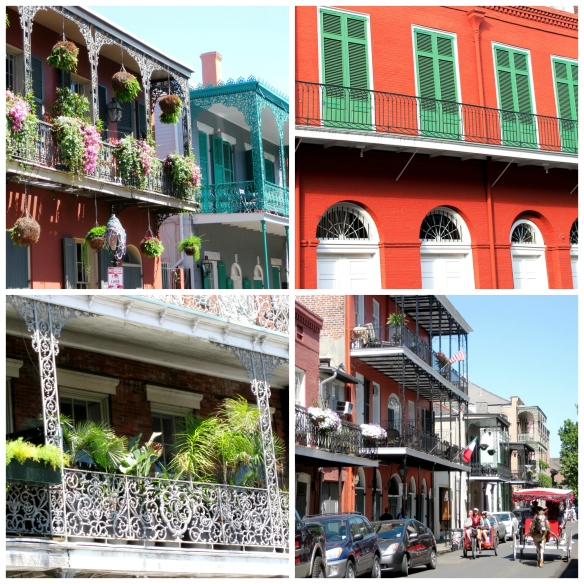 French Quarter Collage
