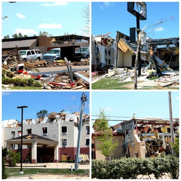 Tupelo Tornado Collage