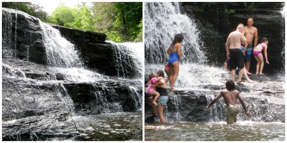 Water fall Collage
