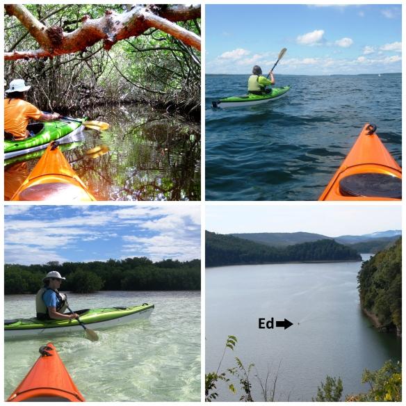 Kayaking Collage